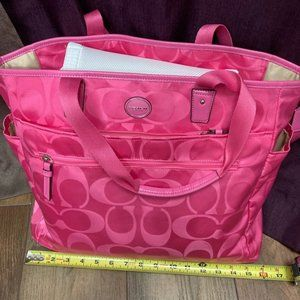 Coach Diaper Bag NEW Nylon